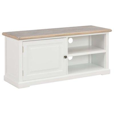 Tv-meubel 90x30x40 cm hout wit
