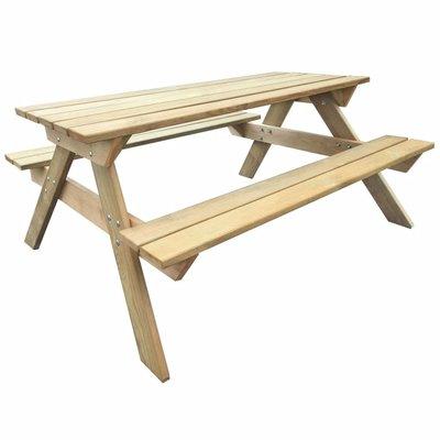 Picknicktafel 150x135x71,5 cm hout