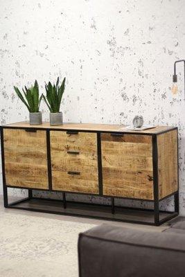 Dressoir Sienna 180x45x86 cm massief mangohout