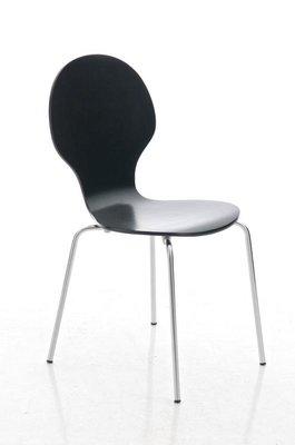 Bezoekersstoel Doegi Zwart
