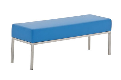 Driezitsbank Limigi 120x40 Blauw