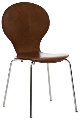 Bezoekersstoel Doegi Bruin
