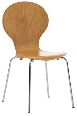 Bezoekersstoel Doegi eiche,