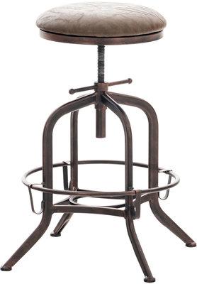 Barkruk Ivada Bruin,bronze
