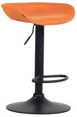 Barkruk Inehaam Stof Oranje,Zwart