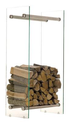 Brandhoutrek Docia 35x40x100 cm,Metaal,