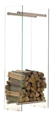 Brandhoutrek Docia 35x40x150 cm,Metaal,
