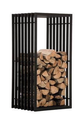 Brandhoutrek Erveng wandrek 40x50x100 cm, Zwart
