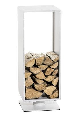 Brandhoutstandaard Bisal Wit matt,60x30 cm