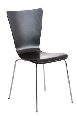 Bezoekersstoel Oaran Zwart