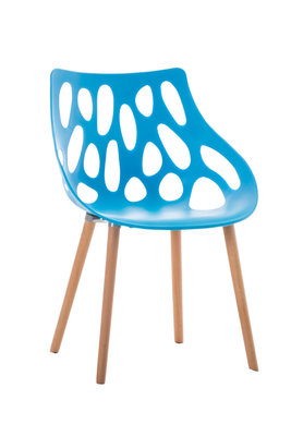 Bezoekersstoel Heilay Blauw