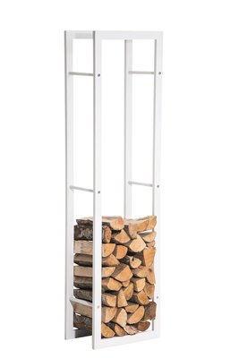 Brandhoutenrek Kire wit mat 25x40x100 cm, Wit