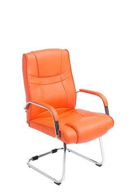 Eetkamerstoel Itteli Kunstleer Oranje