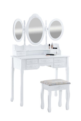 Make-up tafel Peiluna Wit