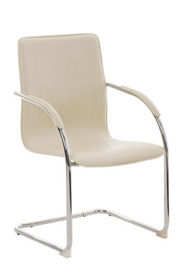 Bezoekersstoel Maline V2 Creme