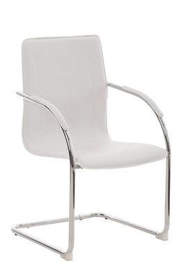 Bezoekersstoel Maline V2 Wit
