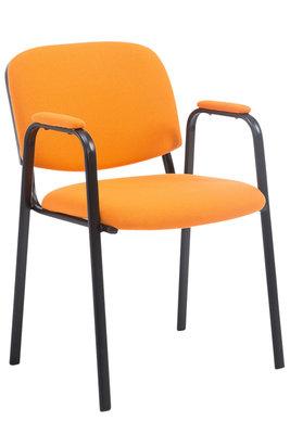 Bezoekersstoel Kin Pro stof Oranje