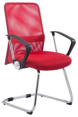 Bezoekersstoel Pett Rood