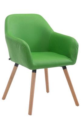 Bezoekersstoel Ichit V2 Kunstleer Groen,natura