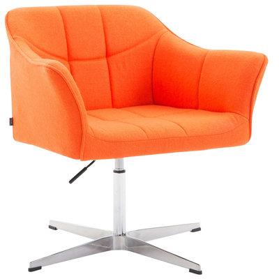 Loungestoel Jaen Stof Oranje