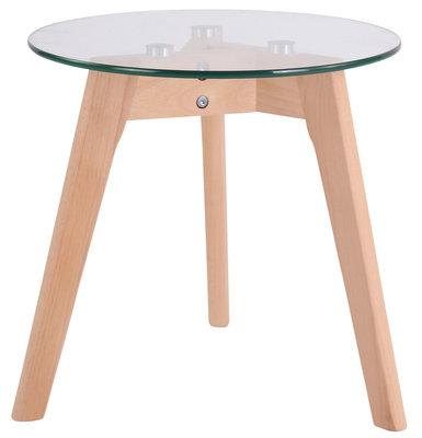Glazen tafel Matalo klarglas,40 cm,