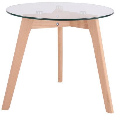 Glazen tafel Matalo klarglas,50 cm,