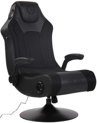 Gamingstoel Nivirs Kunstleer Zwart/Zwart