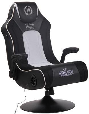 Gamingstoel Nivirs Kunstleer Zwart/Wit
