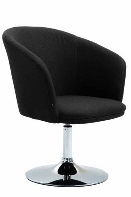 Lounge Ercada Stof Zwart