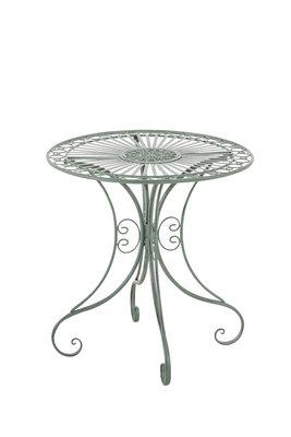 IJzeren tafel Hira antik-Groen