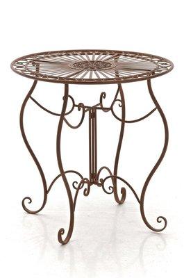 IJzeren tafel Andri antik Bruin