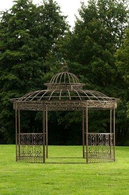 Round Luxury Pavilion ROMANTIC bronze,
