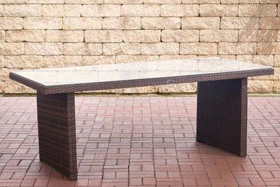 Poly Roodan tafel Avignon Bruin-meliert,200 cm