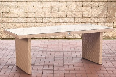 Poly Roodan tafel Avignon sand,200 cm