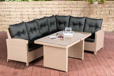 Dining Set Menire sand,anthrazit,