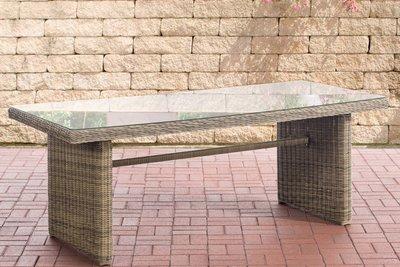 Wicker tafel Fantano XL natura,