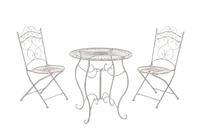 Bistro set Andri antik Wit
