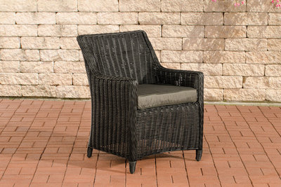 Set van 4 fauteuils Sendnas Zwart,anthrazit