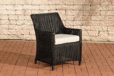 Set van 4 fauteuils Sendnas Zwart,CremeWit