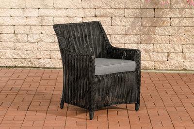 Set van 4 fauteuils Sendnas Zwart,eisenGrijs