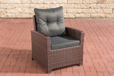 PolyRoodan fauteuil Fosoli Bruin-meliert,anthrazit
