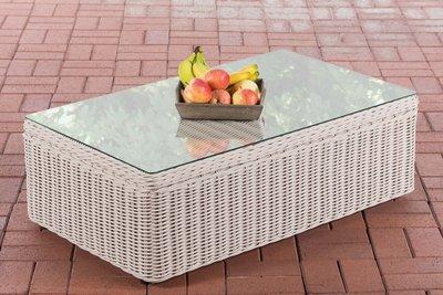 Lounge tafel Taberi 5mm perlWit