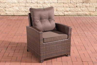 PolyRoodan fauteuil Fosoli Bruin-meliert,terraBruin