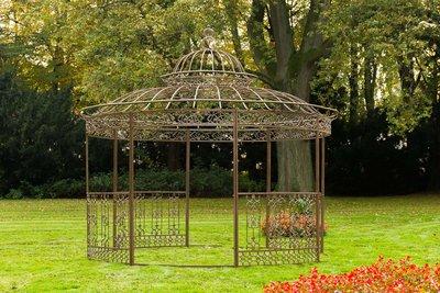 Round Luxury Pavilion ROMANTIC antik Bruin