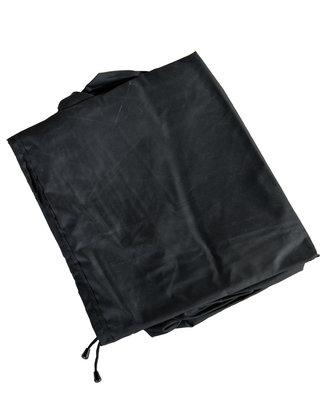 Beschermhoes voor de sofa met voetenbank Molde Zwart