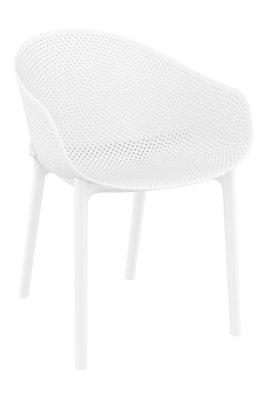 Stapelbare stoel Ska Wit