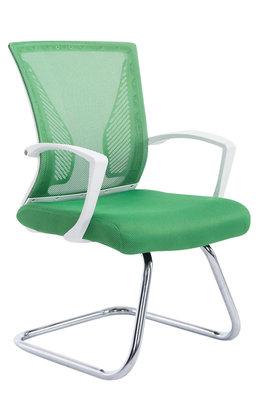 Bezoekersstoel Bennio Chroom,Groen
