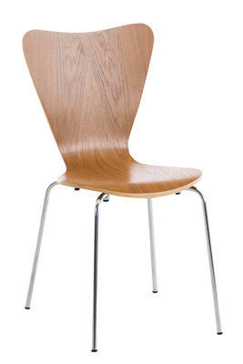 Bezoekersstoel Colista eiche,