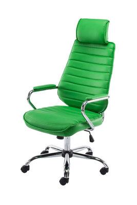 Bureaustoel Roka V2 kunstleer Groen