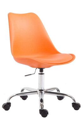 Bureaustoel Teulouso Kunststof Oranje